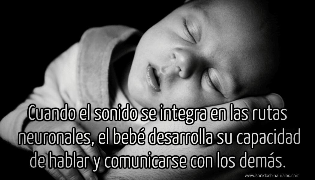 bebé y sonidos