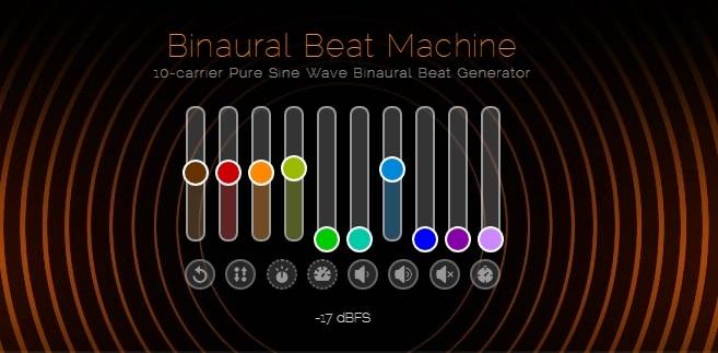 Generador Sonidos Binaurales Online